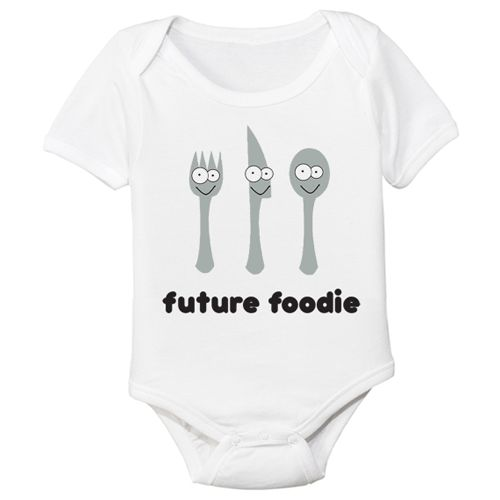 future foodie organic shirt