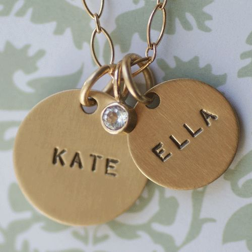 Heirloom 14k gold necklace for mom