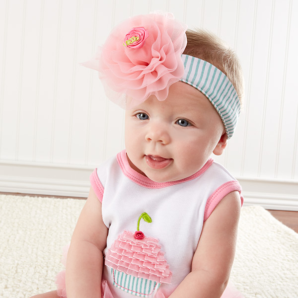 Our Baby Cupcake Outfit, Headband, and Bootie Set Will Look Sweet!