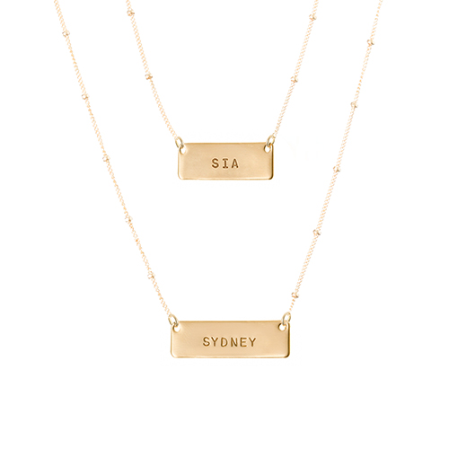 Our Personalized Layered Necklaces Make The Perfect Gift