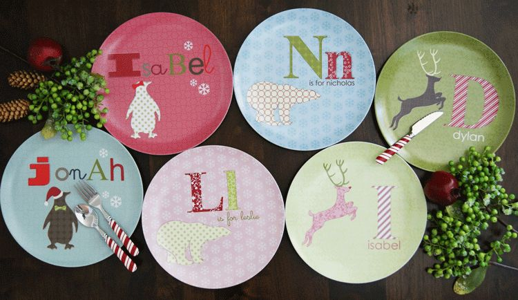 Kids Plates–A Great Gift for the Holidays!