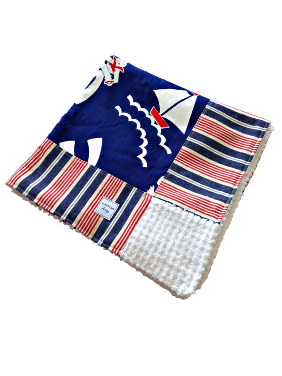 Our Vintage Baby Blankets Look Cool, But They'll Keep Your Baby Warm!