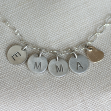 Little Girls Personalized Necklace