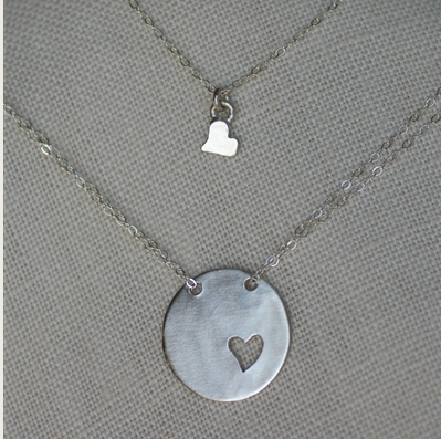 Our Beautiful Heart Necklaces Will Make The Perfect Valentine's Day Gift