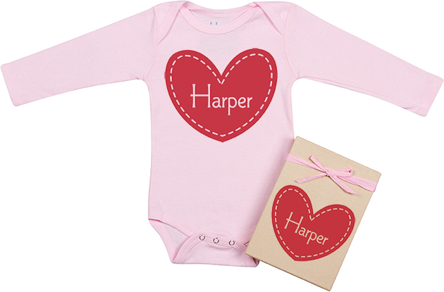 These Heart Onesies and Tees Will Warm Your Heart!